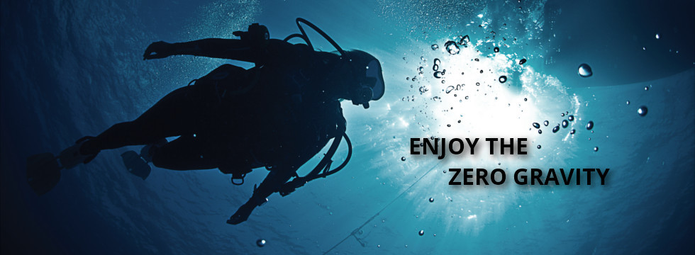 Enjoy the zero gravity
