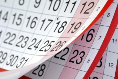Dive Schedule
