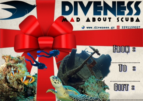 Diveness GiftCard